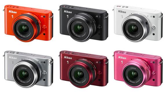 Яркий и быстрый Nikon 1 J2