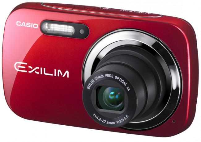 Стильные камеры Casio Exilim EX-N5 и EX-N50 в интересном дизайне