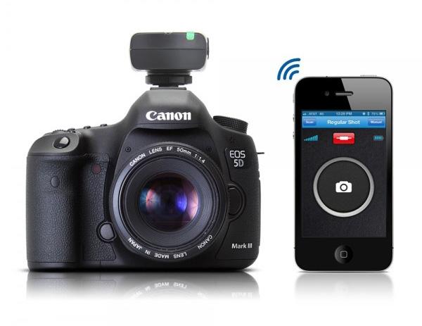 Представлено устройство для удаленного управления фотокамерами Canon и Nikon