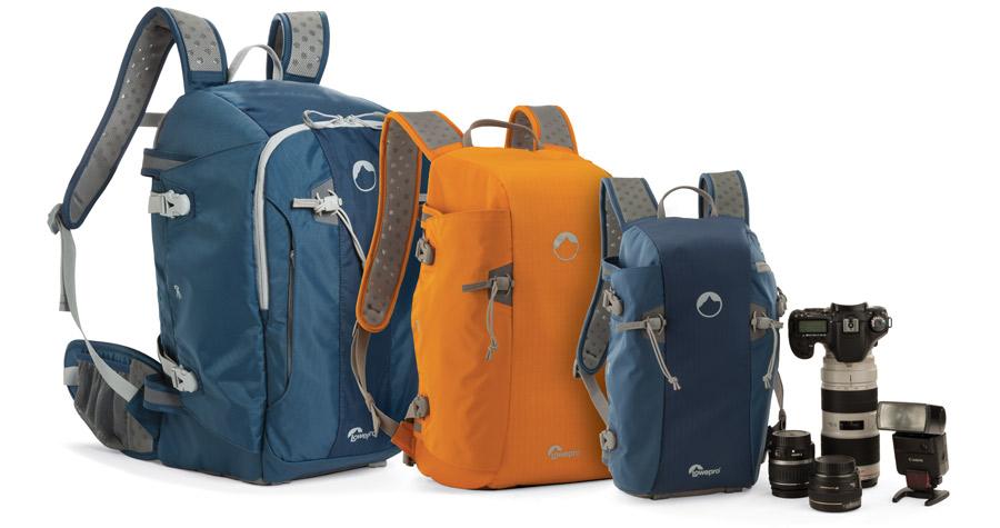 Те, кто привык переносить фототехнику в рюкзаке, наверняка оценят ёмкий и удобный Lowepro Flipside Sport 20L AW