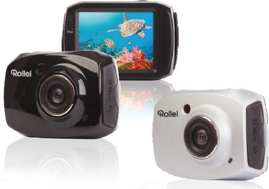 Пресс-служба компании RCP-Technik GmbH & Co. KG анонсировала выпуск под брендом Rollei новой цифровой экшен-камеры Racy Full-HD