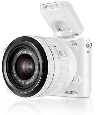 Пресс-служба компании Samsung Electronics официально заявила о выпуске компактной беззеркальной цифровой камеры NX1100
