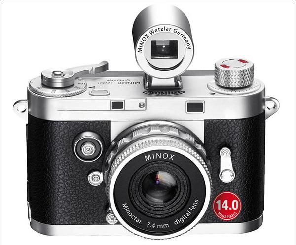 Линейка фотокамер компании Minox пополнилась мини-моделью DCC 14.0