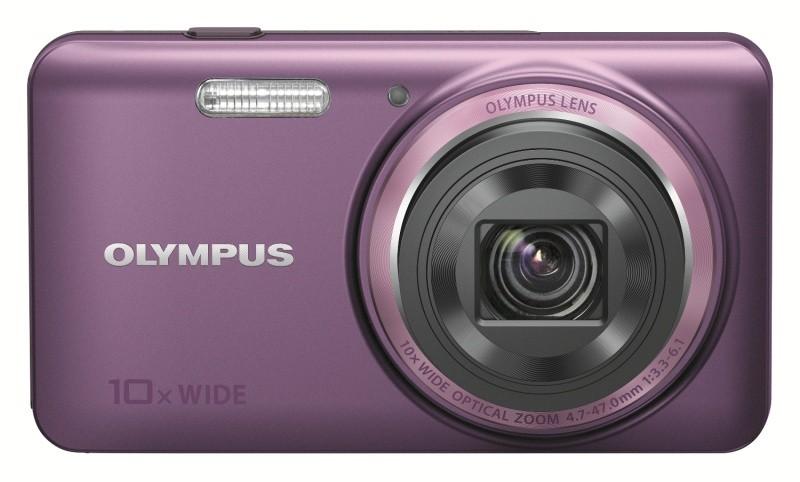 Компания Olympus оснастила свою новую компактную модель VH-520 технологией iHS