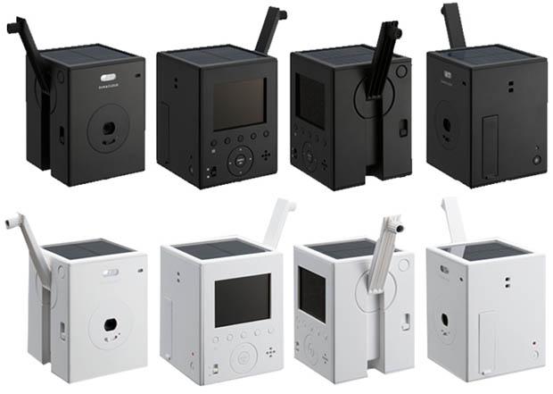 Японские разработчики впервые оборудовали фотокамеру двумя встроенными системами энергообеспечения
