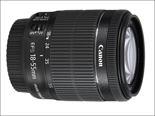 Компания Canon в апреле начнёт продажи объектива EF-S 18-55mm F/3.5-5.6 IS STM для цифровых зеркальных фотоаппаратов
