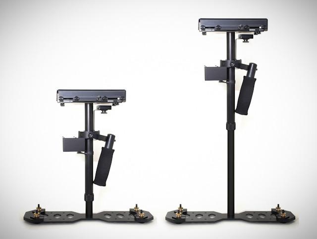 Удобное устройство позволяет использовать любую фотокамеру для съемки видео без рывков