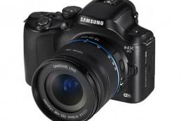 Samsung развивает свою линейку камер беззеркального типа