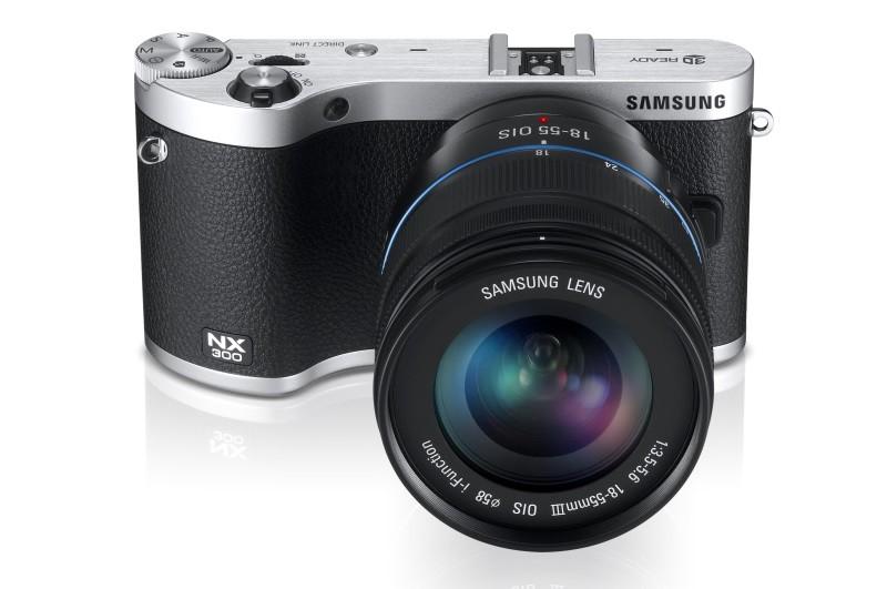 Samsung Electronics объявила о начале продаж новой беззеркальной фотокамеры NX300 со сменной оптикой