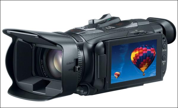 Компания Canon в июне начнёт продажи видеокамеры Legria HF G30