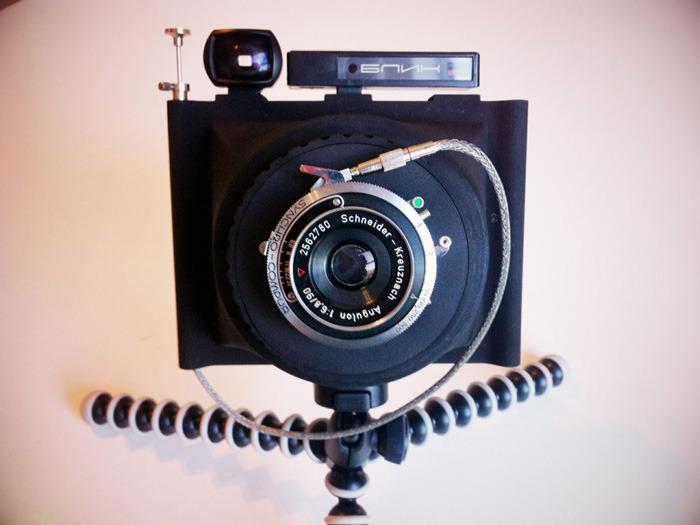 Доступную и мобильную камеру формата 4х5 предлагают разработчики из Wanderlust Cameras