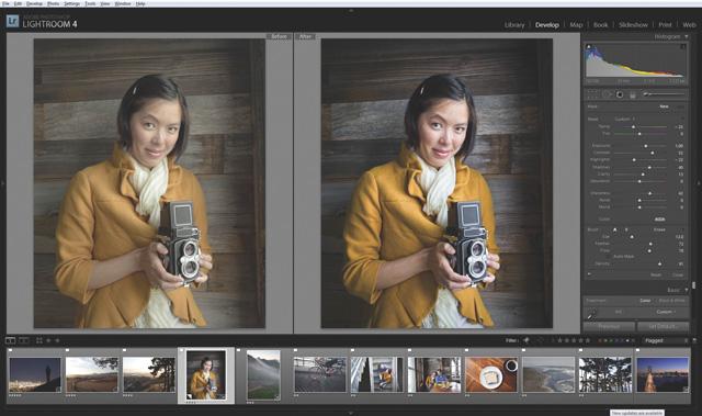 Компания Adobe представила обновленные версии популярных программ Lightroom и Camera Raw