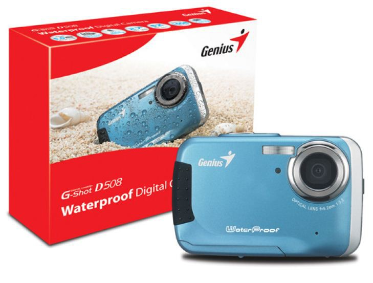 Genius G-Shot 508 — свежее пополнение в серии цифровых фотокамер Genius G-Shot