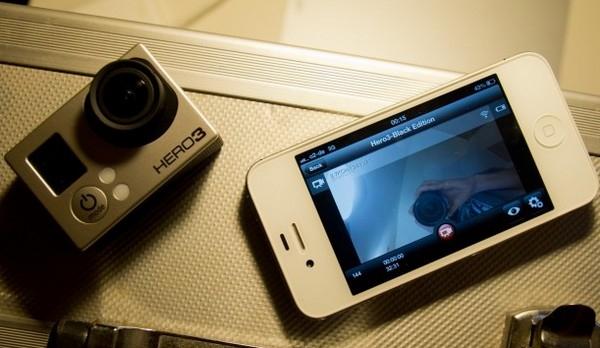 Взгляд на GoPro Hero 3 iPhone app – iPhone беспроводной монитор и пульт управления