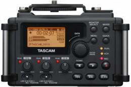 Tascam DR-60D – установка которая может крепиться прямо на ваш риг, имеет 4-е канала и предназначена для записи звука прямо на ваш DSLR