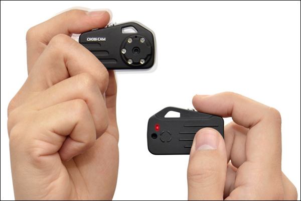 CHOBi CAM Pro 3: самая маленькая видеокамера