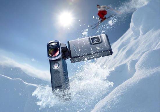 Фанаты экстремального спорта по достоинству оценят новую видеокамеру HDR-GW66VE компании Sony