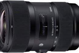 Компания Sigma, объявила о выпускет зум-объектив с постоянной максимальной диафрагмой F/1,8 для камер формата APS-C