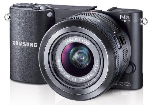 Samsung начинает продажи фотокамеры Samsung NX1100