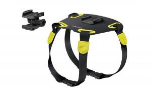 Специальный держатель фототехники для собак выпущен компанией Sony. Теперь четвероногие питомцы могут вести фото и видеосъёмку почти самостоятельно