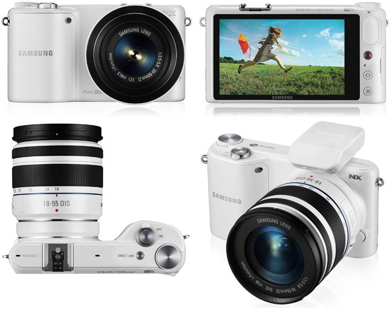 Компания Samsung Electronics анонсировала выпуск новой компактной беззеркальной цифровой камеры NX2000
