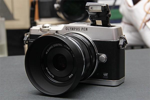 """Olympus планирует в ближайшее время представить  """"топовый"""" фотоаппарат формата Micro Four Thirds — Olympus PEN E-P5"""