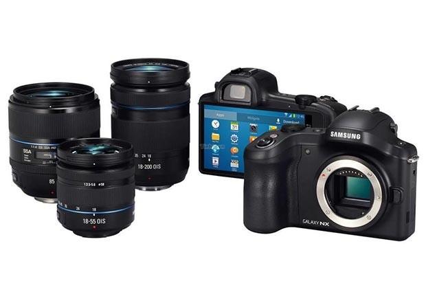 20 июня компания Samsung представит свою первую беззеркальную камеру, работающую на Android — Galaxy NX