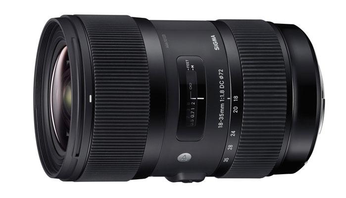 Sigma представила новый объектив 18-35mm F/1.8 стоимостью $800