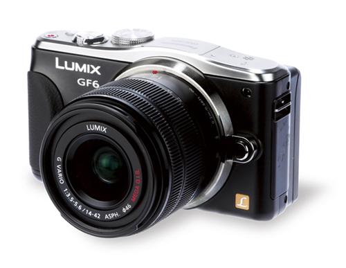 Panasonic Lumix DMC-GF6 – самый яркий и новый представитель самой младшей линейки системных камер