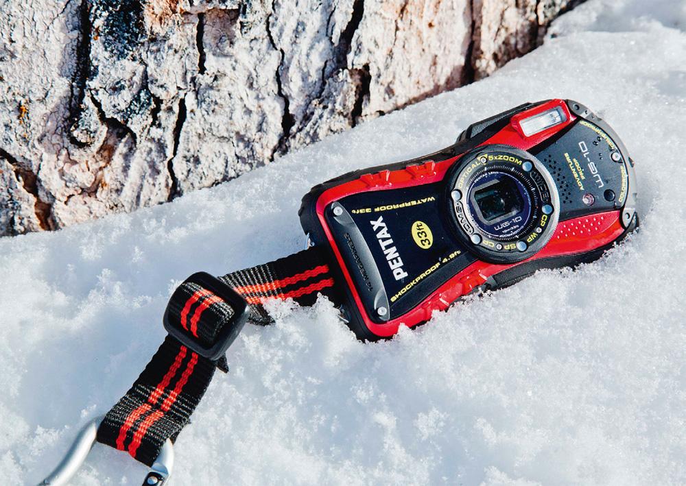 Компактная камера Pentax WG-10 предназначена для активной и легкой съемки на открытом воздухе и под водой