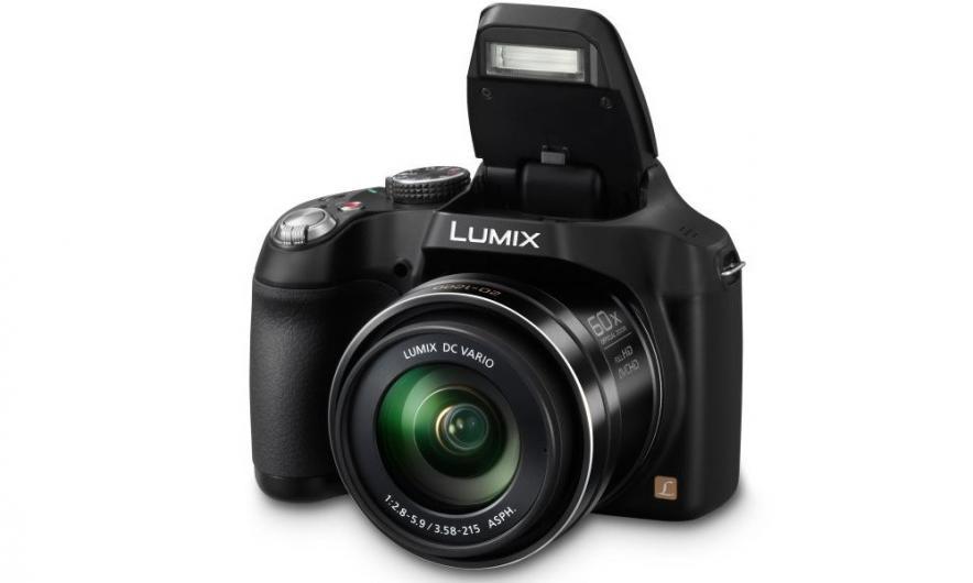 Panasonic LUMIX DMC-FZ72-камера с самым мощным зумом