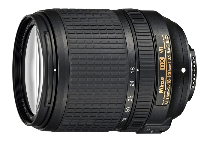 Компания Nikon анонсировала компактный зум-объектив AF-S DX NIKKOR 18–140mm f/3.5–5.6G ED VR
