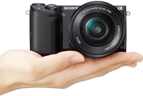Японский производитель представил камеру Sony α NEX-5T