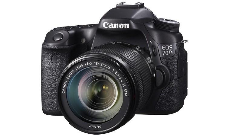 Начало продаж Canon EOS 70D