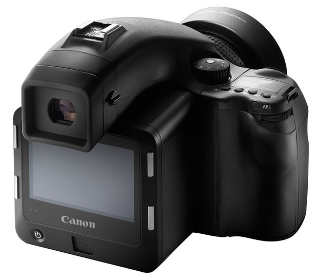 По неофициальной информации компания Canon может выпустить собственную среднеформатную камеру