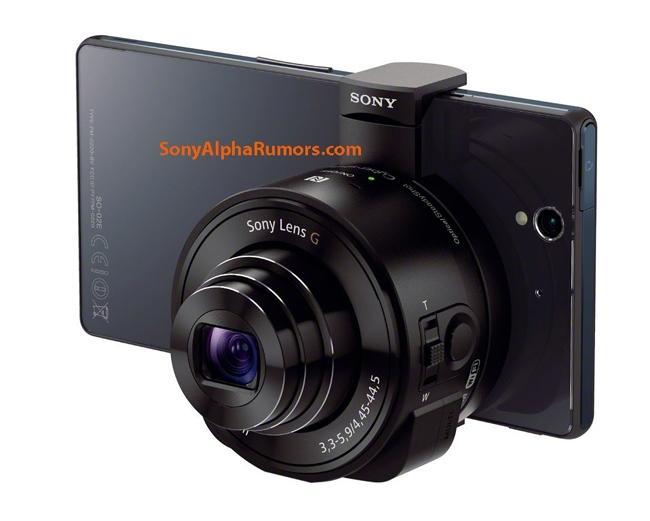 На днях появилась информация, что Sony выпустит накладные камеры-объективы DSC-QX10 и DSC-QX100