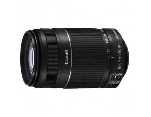 Компания Canon представила объектив EF-S 55-250mm f/4-5.6 IS STM