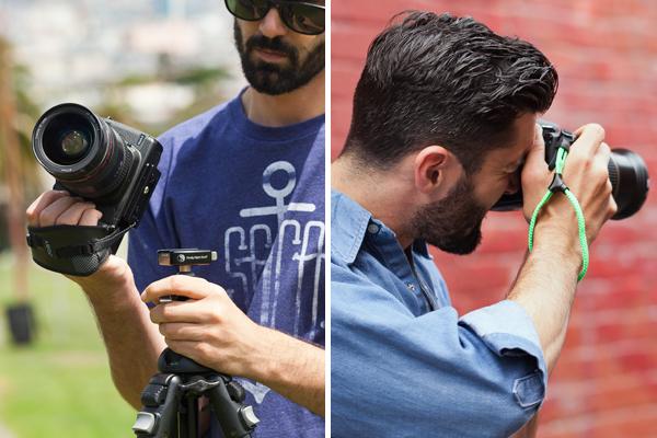 JOBY выпустил парочку новых кистевых ремешков и браслетов для камеры