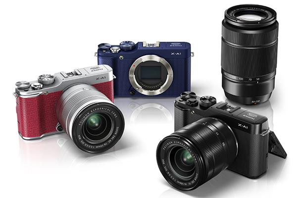 Fuji объявила о выходе фотокамеры Fujifilm X-A1