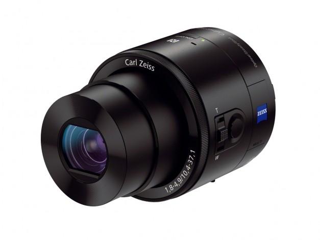 Камеры-объективы Sony DSC-QX100 и DSC-QX10