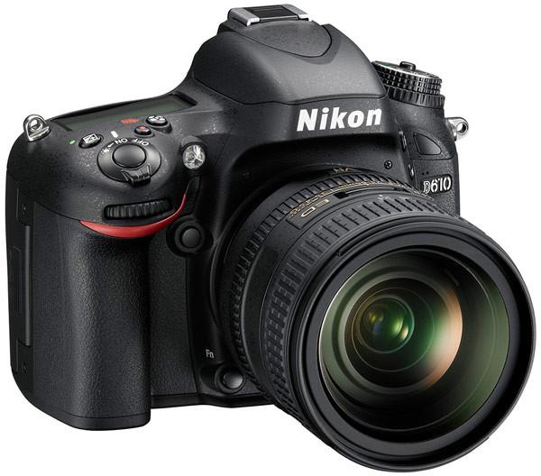 Nikon анонсировала свою новую полнокадровую зеркальную фотокамеру D610