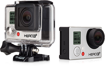 GoPro представляет обновленную камеру Hero3 — новую Hero3+.