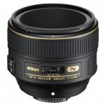 Светосильный объектив AF-S NIKKOR 58mm f/1.4G