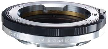 Компания Voigtlander анонсировала переходник VM-E Close Focus для установки объективов с байонетом VM на камеры Sony с байонетом E