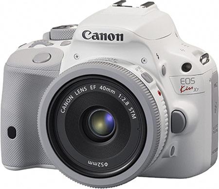 Представлен белый вариант камеры Canon EOS Kiss X7