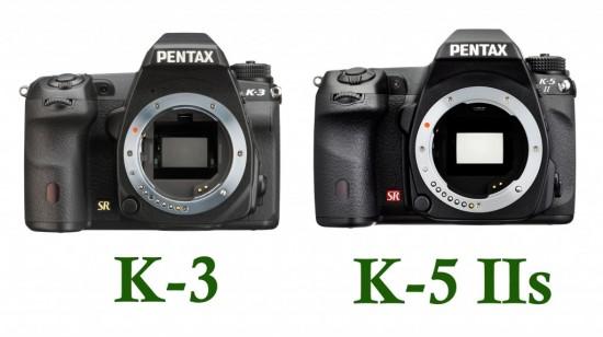 Сраваем Pentax K-3 и Pentax K-5 II/IIs