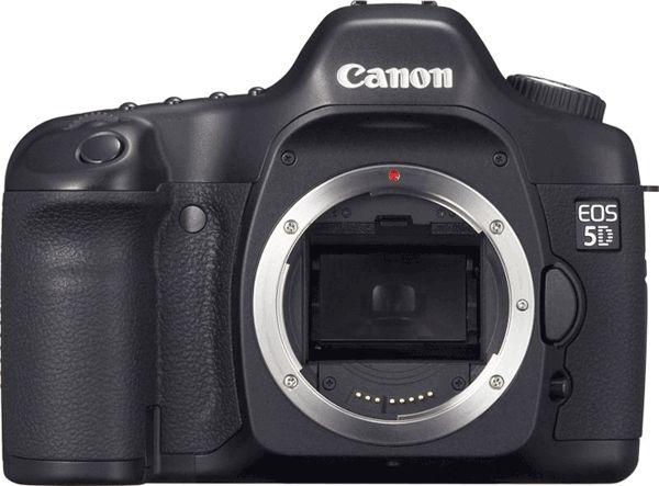 Canon выпустила новую прошивку для камер Canon EOS