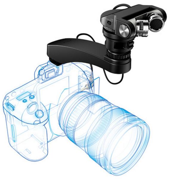 Компания Tascam выпустила новый микрофон для цифровых зеркальных камер