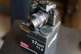 Анонсирован объектив SLR Magic 17mm T1.6