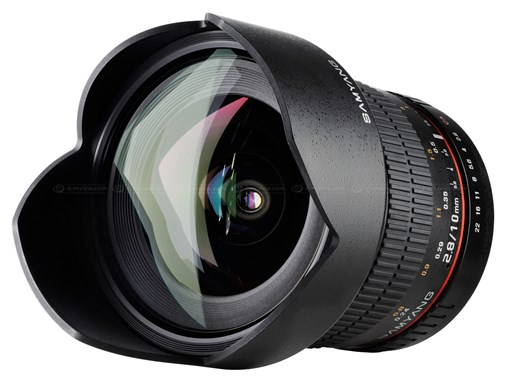 Показан новый объектив Samyang 10mm 1:2.8 ED AS NCS CS